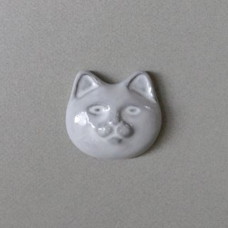 <img class='new_mark_img1' src='https://img.shop-pro.jp/img/new/icons5.gif' style='border:none;display:inline;margin:0px;padding:0px;width:auto;' />necoto THz ceramic plate【cat face / WHT】