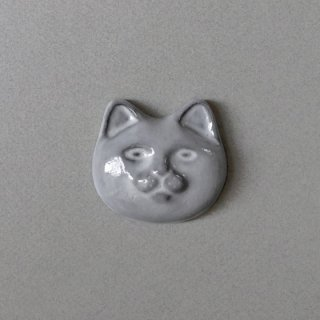 <img class='new_mark_img1' src='https://img.shop-pro.jp/img/new/icons5.gif' style='border:none;display:inline;margin:0px;padding:0px;width:auto;' />necoto THz ceramic plate【cat face / GRY】