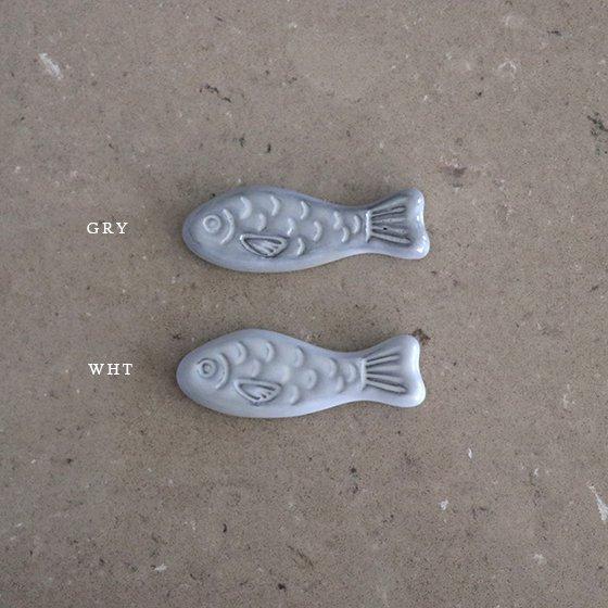 necoto THz ceramic plate【fish / WHT 2set】