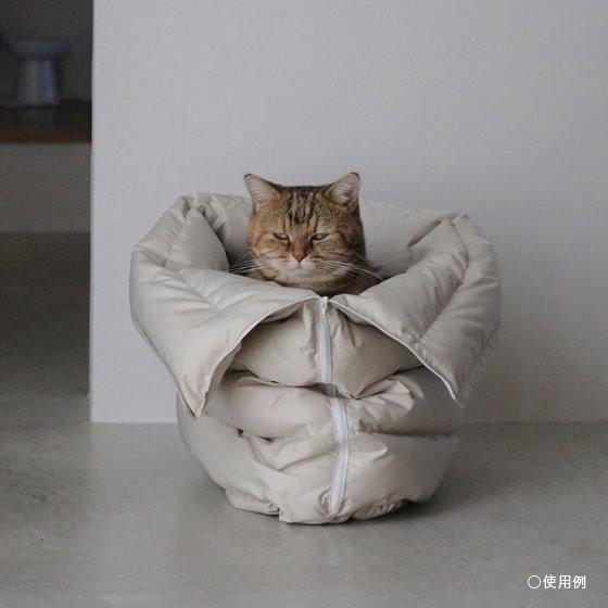 <予約販売>necoto Recycledown sleeping bag【Light grey】