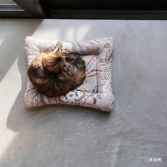 <img class='new_mark_img1' src='https://img.shop-pro.jp/img/new/icons5.gif' style='border:none;display:inline;margin:0px;padding:0px;width:auto;' />【受注製作】猫用ベッド/USコットン<森のともだち/グリーングレー>
