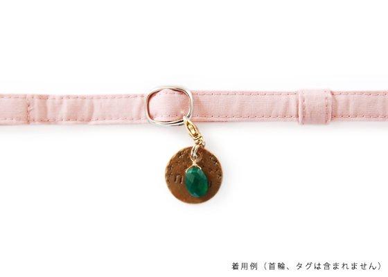 ペットのラッキーチャーム/安全・幸運を呼ぶお守りクリスタル(水晶)/天然石
