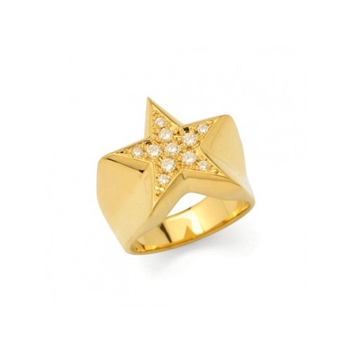 STAR PAVES PINKY RING(K18GD DIA)<img class='new_mark_img2' src='//img.shop-pro.jp/img/new/icons5.gif' style='border:none;display:inline;margin:0px;padding:0px;width:auto;' />
