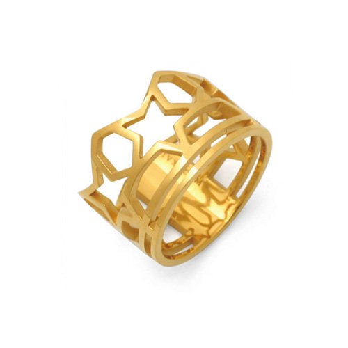 SKELETON FIVE STAR RING(K18GD)<img class='new_mark_img2' src='//img.shop-pro.jp/img/new/icons5.gif' style='border:none;display:inline;margin:0px;padding:0px;width:auto;' />