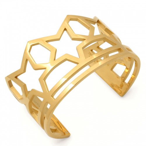 SKELETON FIVE STAR BANGLE(K18GD)<img class='new_mark_img2' src='//img.shop-pro.jp/img/new/icons47.gif' style='border:none;display:inline;margin:0px;padding:0px;width:auto;' />