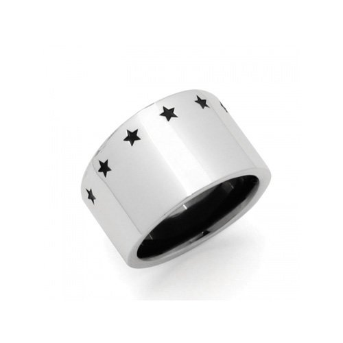 SEVEN STAR RING(SV BK)
