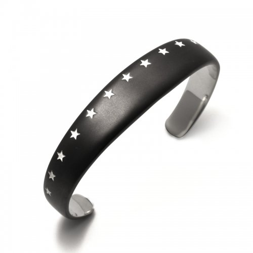 THIRTEEN STAR BANGLE(MATTE BK SV)<img class='new_mark_img2' src='//img.shop-pro.jp/img/new/icons5.gif' style='border:none;display:inline;margin:0px;padding:0px;width:auto;' />