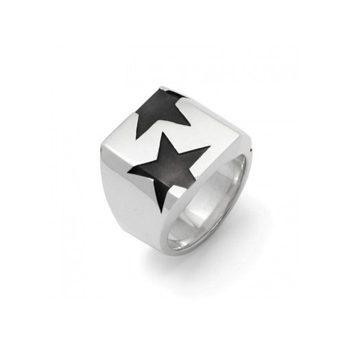 BIG THREE STAR PINKY RING<img class='new_mark_img2' src='//img.shop-pro.jp/img/new/icons5.gif' style='border:none;display:inline;margin:0px;padding:0px;width:auto;' />