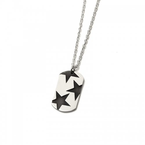 BIG THREE STAR PENDANT(SV BK)<img class='new_mark_img2' src='//img.shop-pro.jp/img/new/icons5.gif' style='border:none;display:inline;margin:0px;padding:0px;width:auto;' />
