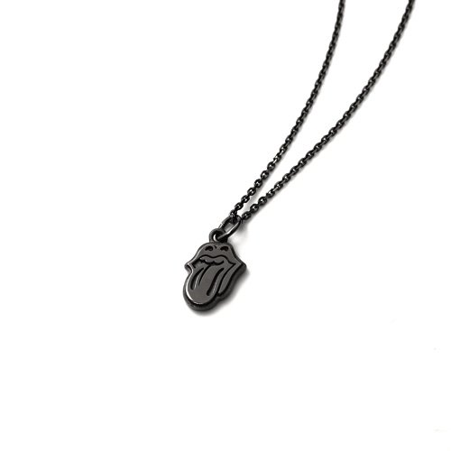 THE ROLLING STONES LIPS & TONGUE CHARM NECKLACE