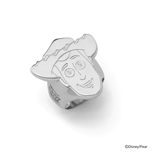 WOODY STAMP FACE RING