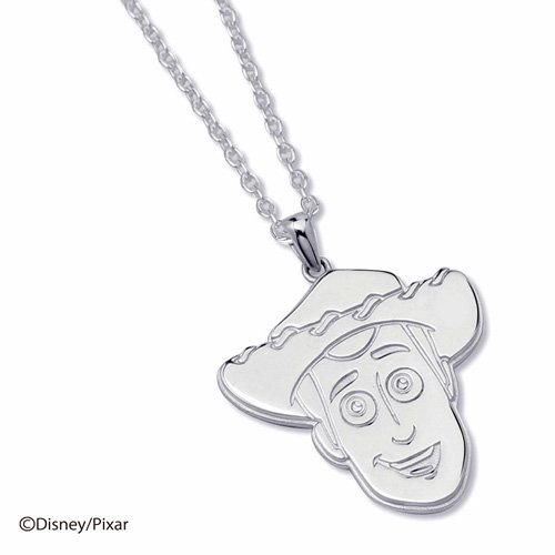 WOODY STAMP FACE NECKLACE(L)
