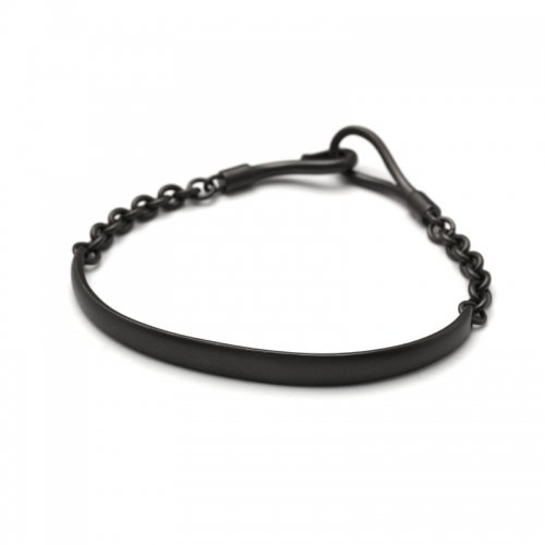 ARCH&HOOK CHAIN BRACELET(MATTEBK)<img class='new_mark_img2' src='//img.shop-pro.jp/img/new/icons47.gif' style='border:none;display:inline;margin:0px;padding:0px;width:auto;' />