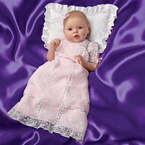 """英国ロイヤル シャーロット王女 ポーセリンベビードール """"Princess Charlotte Of Cambridge Commemorative Baby Doll&quo…"""
