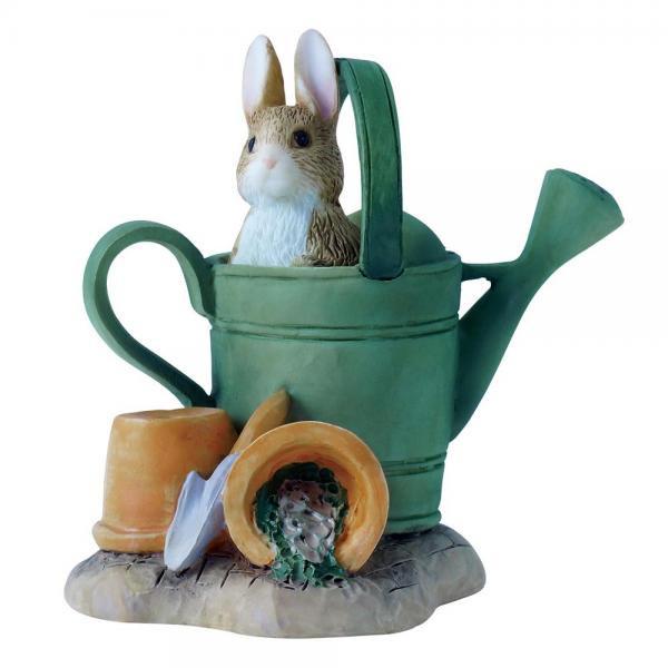 ボーダーファインアーツ ビアトリクス・ポター ピーターラビット 水遣り フィギュア Peter Rabbit in Watering C…