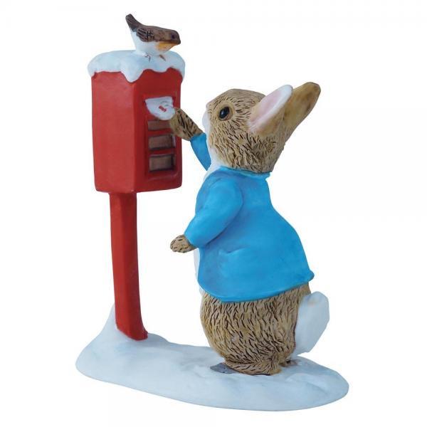 ボーダーファインアーツ ビアトリクス・ポター ピーターラビット ポスティング フィギュア Peter Rabbit Posting a Lett…