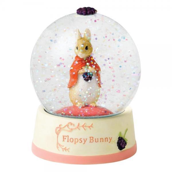 ボーダーファインアーツ ビアトリクス・ポター フロプシー ウォーターボール Flopsy Bunny