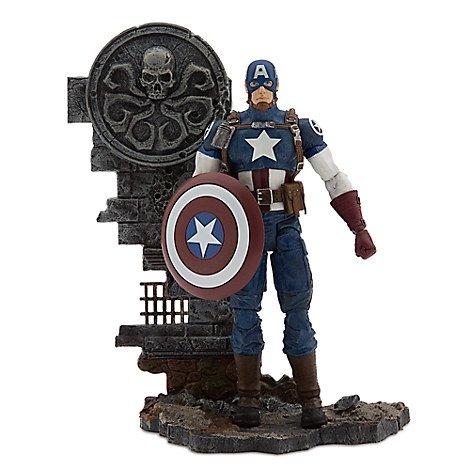 マーベル キャプテン・アメリカ ディズニーストア アクションフィギュア Captain America Action Figure