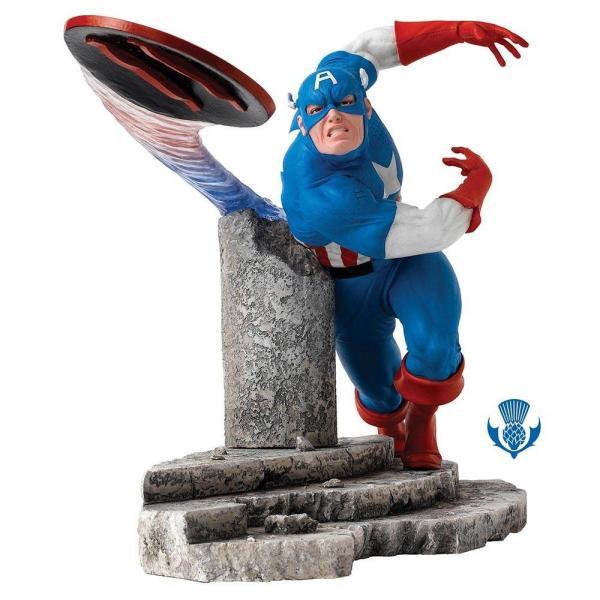ボーダーファインアーツ マーベル キャプテン・アメリカフィギュア Captain America
