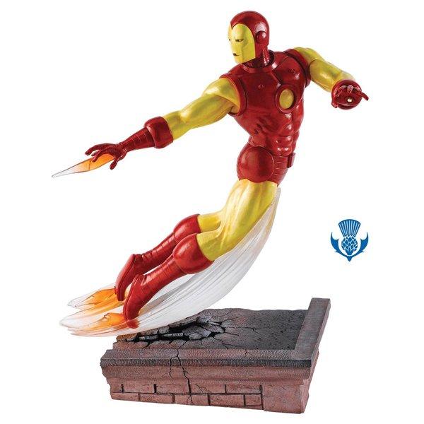 ボーダーファインアーツ マーベル アイアンマンフィギュア Iron Man Figurine Numbered Limited Edition 5…