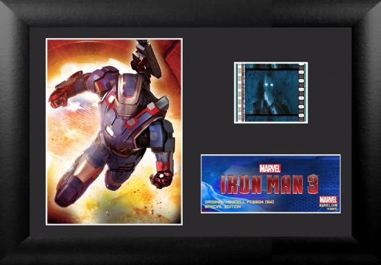 【限定】アイアンマン3 フィルム・セル (S4) ミニセル Iron Man 3 (S4) Minicell