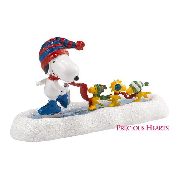 スヌーピー スケーターズワルツ フィギュア Snoopy's Skating Waltz