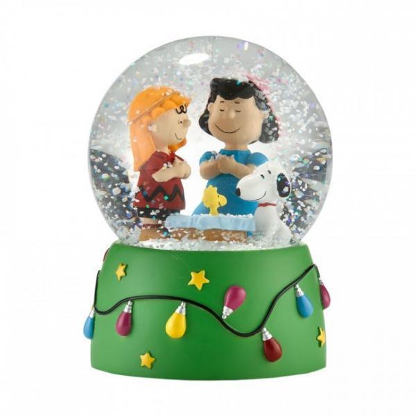 ピーナッツ クリスマスウォーターグローブ  The Christmas Play - Water Globe