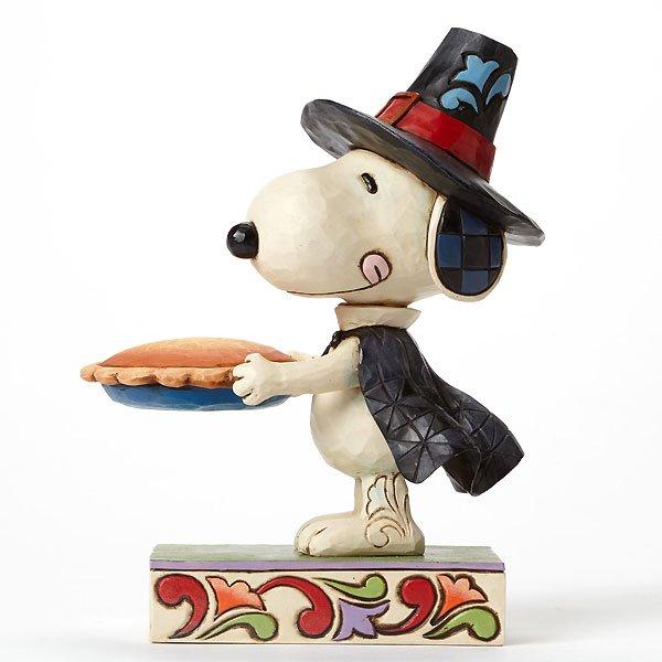 """ピーナッツ by ジム・ショア ピルグリムスヌーピーフィギュア """"We Give Thanks-Pilgrim Snoopy"""""""