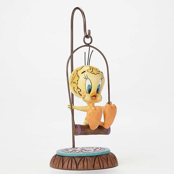 """ジム・ショア ルーニー・テューンズ トゥイーティー フィギュア """"Oh Where Has My Puddy Tat Gone?-Tweety Bird Figurine&quo…"""