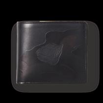 バフィング×カモフラージュ<br>二つ折り財布