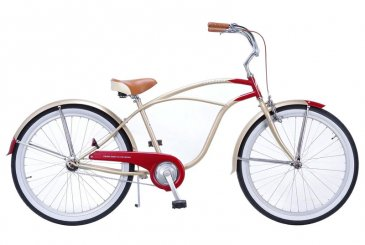 RAINBOW BEACH CRUISER 26″(GOLD/RED)