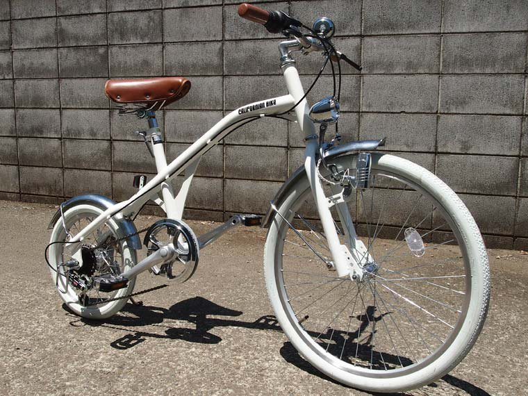 NEW RETRO BIKE(WHITE×WHITE)
