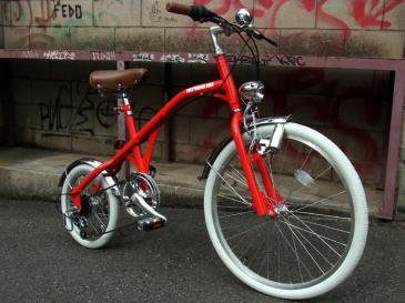 NEW RETRO BIKE(RED×WHITE)
