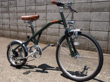 NEW RETRO BIKE(OLIVE×BLACK)