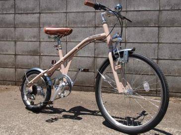 NEW RETRO BIKE(BEIGE×BLACK)