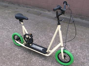 SKATER BIKE(BEIGE) *GREEN TIRE