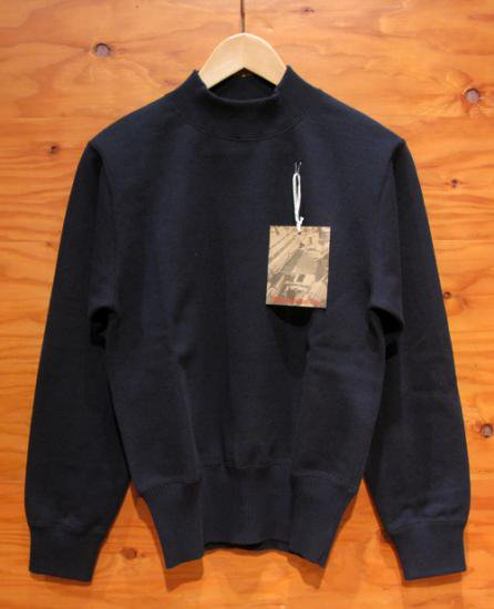WORKERS USN Cotton Sweater Navy