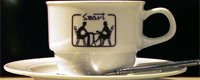 オリジナル コーヒーカップ&ソーサー ペアセット
