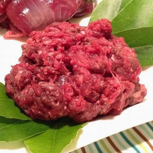 鹿生肉 ミンチ 150g 冷凍商品 (ペット用)