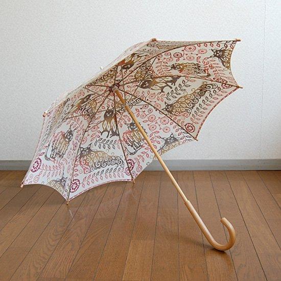 日傘 猫がいる君の傍らに柄