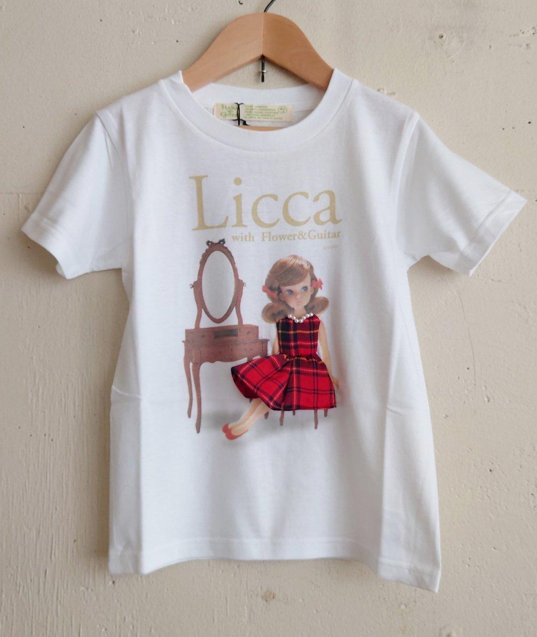 Licca 3D T-sh 1st (初代リカちゃん)子供用