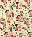 AMERICAN COTTON CLOTH -CANDY SHOP- (アメリカンコットン 生地 キャンディ柄)