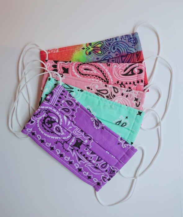 CLOTH MASK-PAISLEY bandana- (布マスク ペイズリーバンダナ)