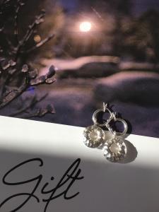 Karen Silver Pierce/Earring