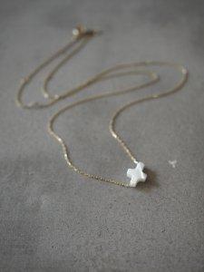 Mini Cross Chain Necklace