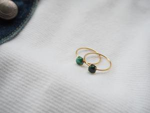 Malachite Ring (10号)