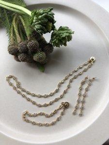 Zirconia Gold Set