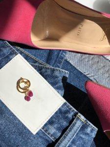 Love Ruby Earrings