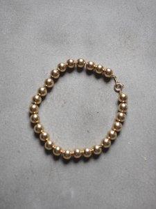 Gold Ball Bracelet/5mm