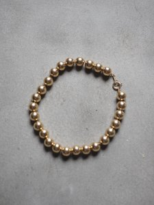 Gold Ball Bracelet/6mm